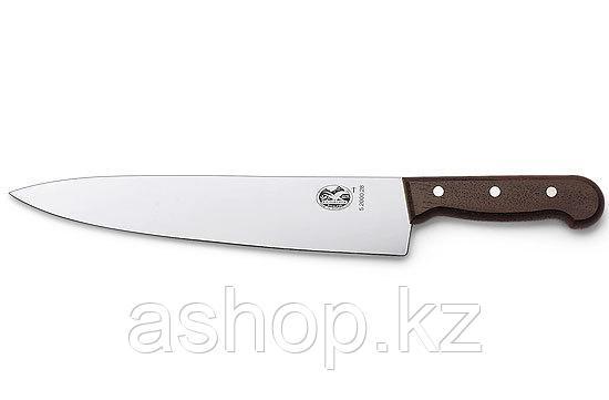 Нож разделочный Victorinox Carving Knife Rosewood, Длина клинка: 250 мм, Материал клинка: Нержавеющая сталь, М