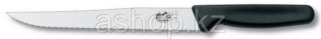 Нож обвалочный Victorinox Carving Knife Serrated, Длина клинка: 200 мм, Материал клинка: Нержавеющая сталь, Ма