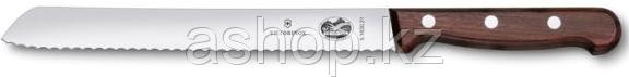 Нож хлебный Victorinox Bread Knife Serrated Rosewood, Длина клинка: 210 мм, Материал клинка: Нержавеющая сталь