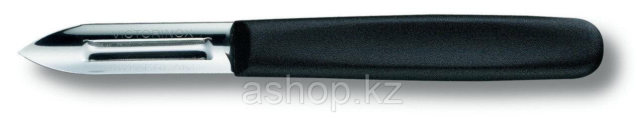 Нож для чистки овощей Victorinox Potato peeler, Общая длина: 128 мм, Материал клинка: Нержавеющая сталь, Матер