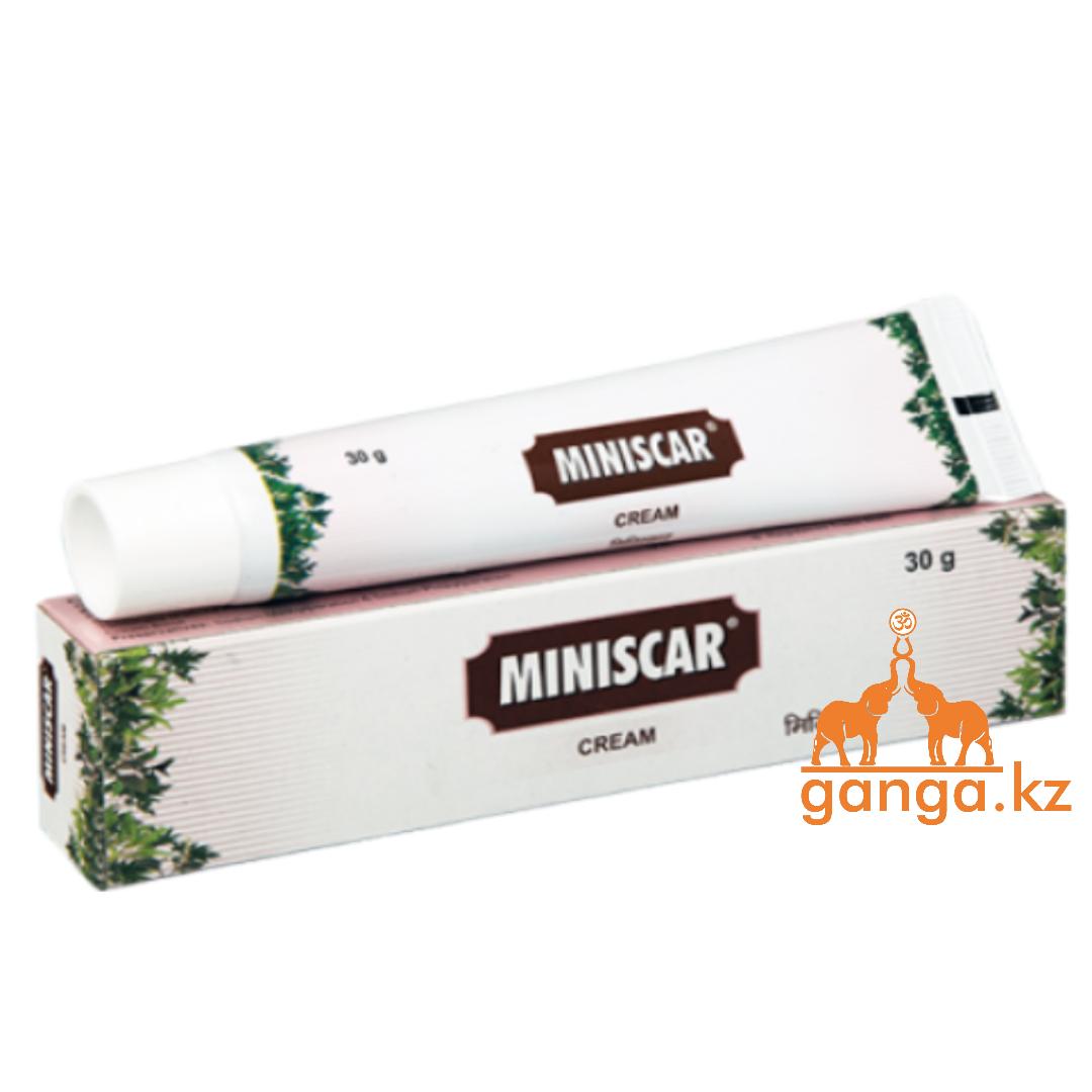 Минискар крем от Рубцов и Растяжек (Miniscar Cream CHARAK), 30 г.