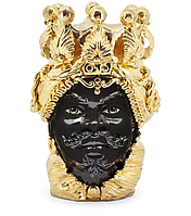 """Testa di Moro Ваза сицилийская """"Голова Мавра"""" ручной работы, керамика и золото"""