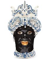 """Testa di Moro Ваза сицилийская """"Голова Мавра"""" ручной работы, керамика"""
