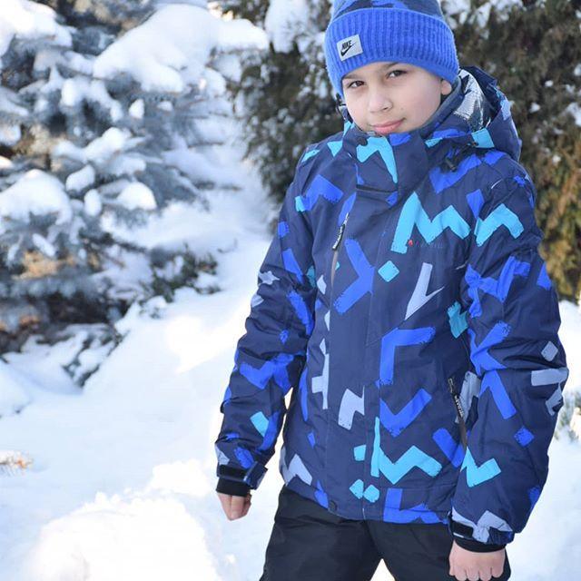 Теплый зимний костюм для мальчиков