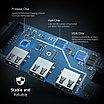 USB Type C хаб-конвертор. 1*VGA, 3*USB 3.0 +PD, фото 4