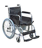 Кресло инвалидное FS609 (с сан. оснащ.)
