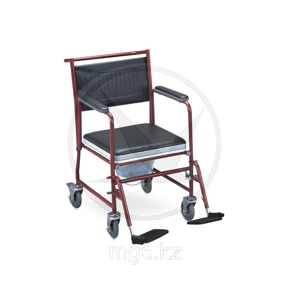 Коляcка инвалидная FS692 (с сан. оснащ.)