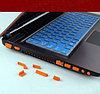 Пылезащитный колпачок для портов и разъемов ноутбука и другой техники.