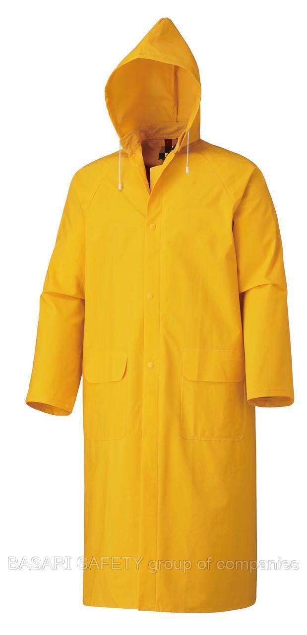 Плащ дождевик желтый