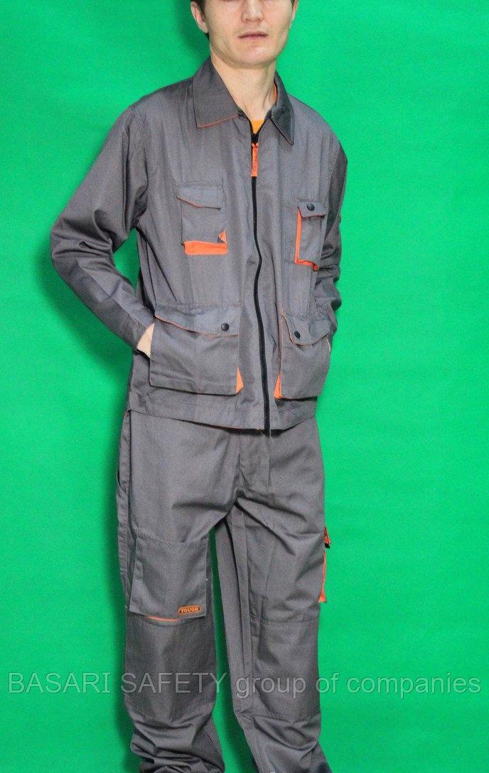 Костюм рабочие, Куртка с брюками, Спецодежда, костюмы рабочие