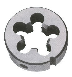Плашки круглые 9ХС 6g М27х3,0/2,0/1,5/1,0/0,75