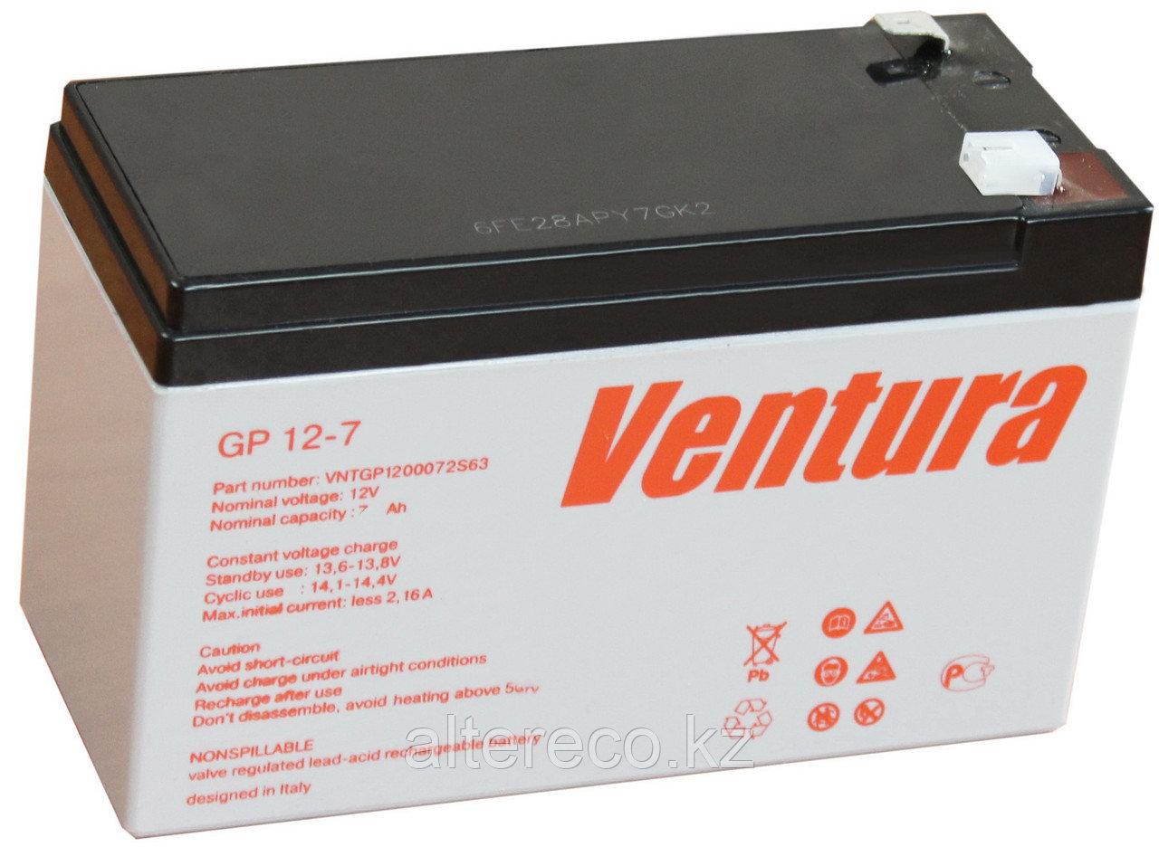 Аккумулятор Ventura GP 12-7 (12В, 7Ач)