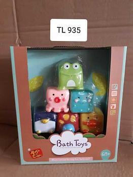 Набор резиновых игрушек для ванной