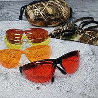 Премиальные профессиональные стрелковые очки со сменными линзами Pyramex Venture Gear - DUCAB-KIT