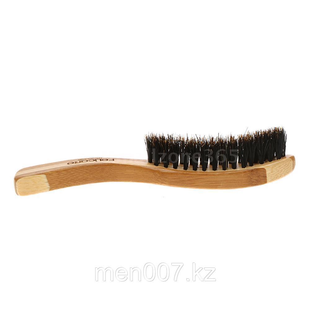 Щетка для бороды (изогнутая)