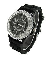 """Женские часы """"Geneva"""" черный"""