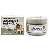 Глиняно пузырьковая маска Elizavecca Milky Piggi Carbonated Bubble Clay
