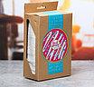 """Подарочный набор """"Donut worry"""" из бутылки для воды (400 мл) и полотенца, фото 4"""