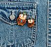 """Набор значков для мамы и ребёнка """"Совы"""", фото 2"""