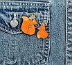 """Набор значков для мамы и ребёнка """"Лисички"""", фото 3"""