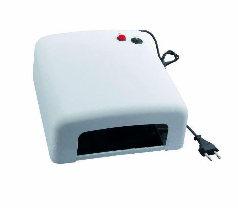 Лампа ультрафиолетовая для маникюра, сушки гель лака JD-818 - фото 1