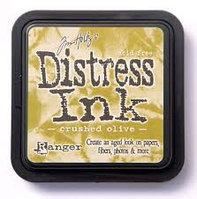 Чернильная подушечка. Цвет - Crushed olive