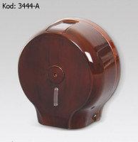 Диспенсер для туалетной бумаги Джамбо (хром и дерево)