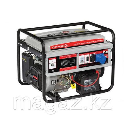 Мультитопливная электростанция ЭБГ-5500 Интерскол, фото 2