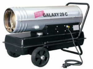 Пушка тепловая дизельная прямого действия  Axe GALAXY 40 C, фото 2