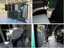 Двухступенчатый винтовой компрессор Dali EN 45/13Ⅱ (SKY2-237LH-D, 280кВт-4-B35) Алматы , фото 2