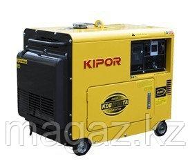 Дизельный генератор в тихом кожухе KIPOR KDE6700TA+KEA20026BP52A, фото 2