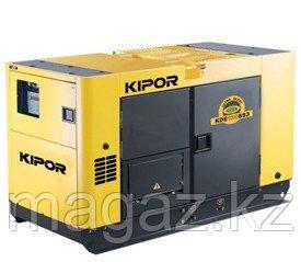 Дизельный генератор в ультратихом кожухе KIPOR KDE100SS3+KPEC40200DQ52A, фото 2