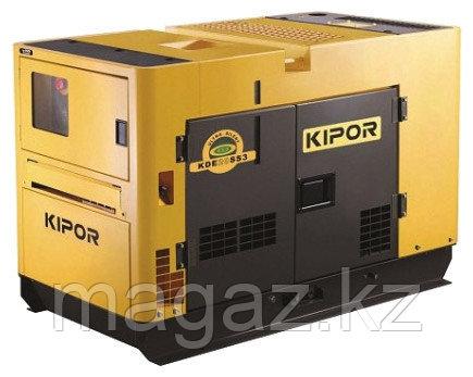 Дизельный генератор в ультратихом кожухе KIPOR KDE20SS3+KPEC40050DP52A