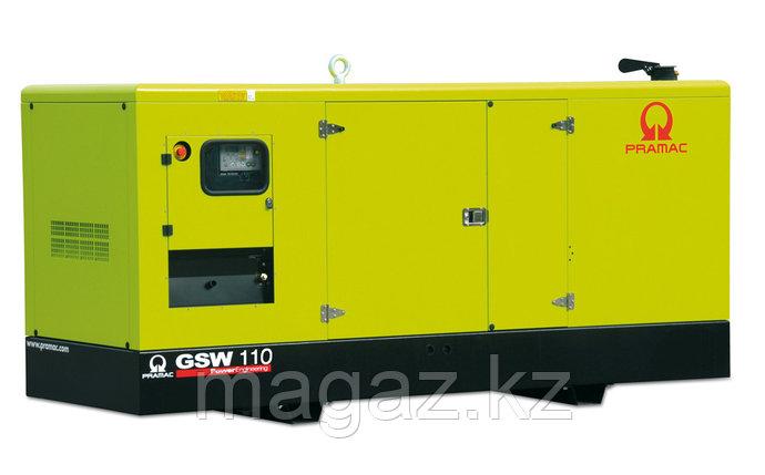 Генератор дизельный в кожухе Pramac GSW110P, фото 2