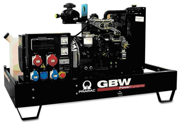 Генератор дизельный без кожуха Pramac GBW45P (Mecc Alte, Испания), фото 2