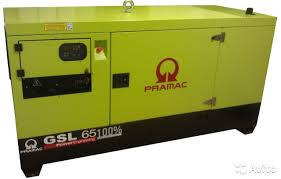 Генератор дизельный без кожуха Pramac GSL65D (Mecc Alte, Испания)