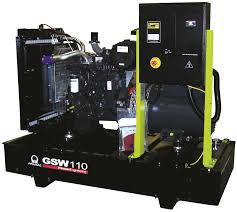 Генератор дизельный без кожуха Pramac GSW110V (Leroy Somer, Испания), фото 2