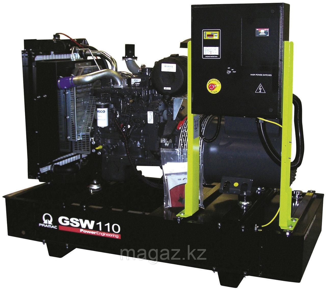 Генератор дизельный без кожуха Pramac GSW110D