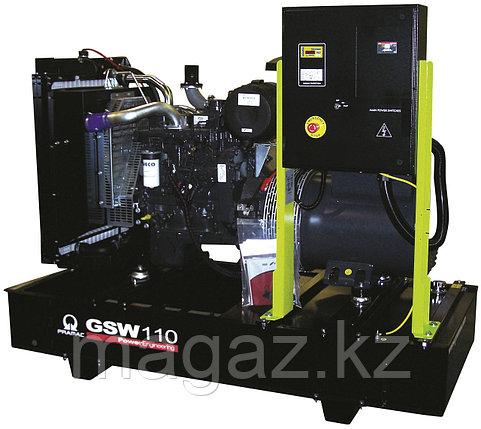 Генератор дизельный без кожуха Pramac GSW110D , фото 2