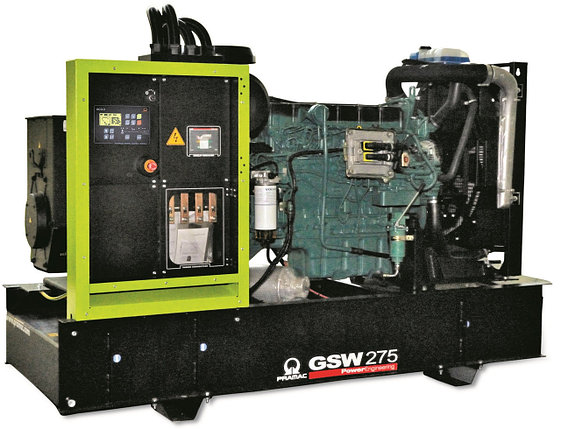 Генератор дизельный без кожуха Pramac GSW275V (Leroy Somer, Италия), фото 2