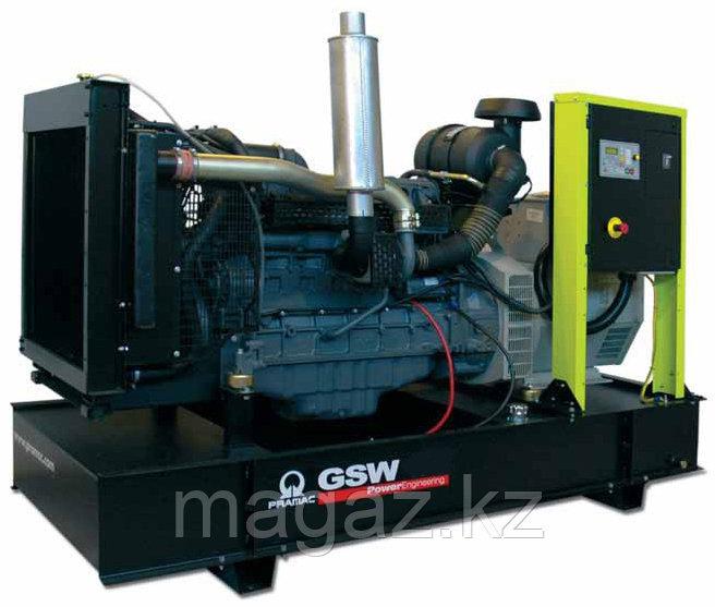 Генератор дизельный без кожуха Pramac GSW370V (Leroy Somer, Италия)