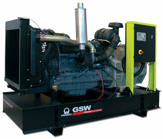 Генератор дизельный без кожуха Pramac GSW415V (Mecc Alte, Италия)