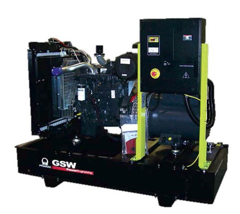 Генератор дизельный без кожуха Pramac GSW510V (Mecc Alte, Италия), фото 2