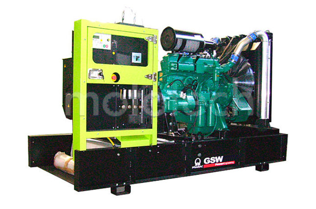 Генератор дизельный без кожуха Pramac GSW705V, фото 2