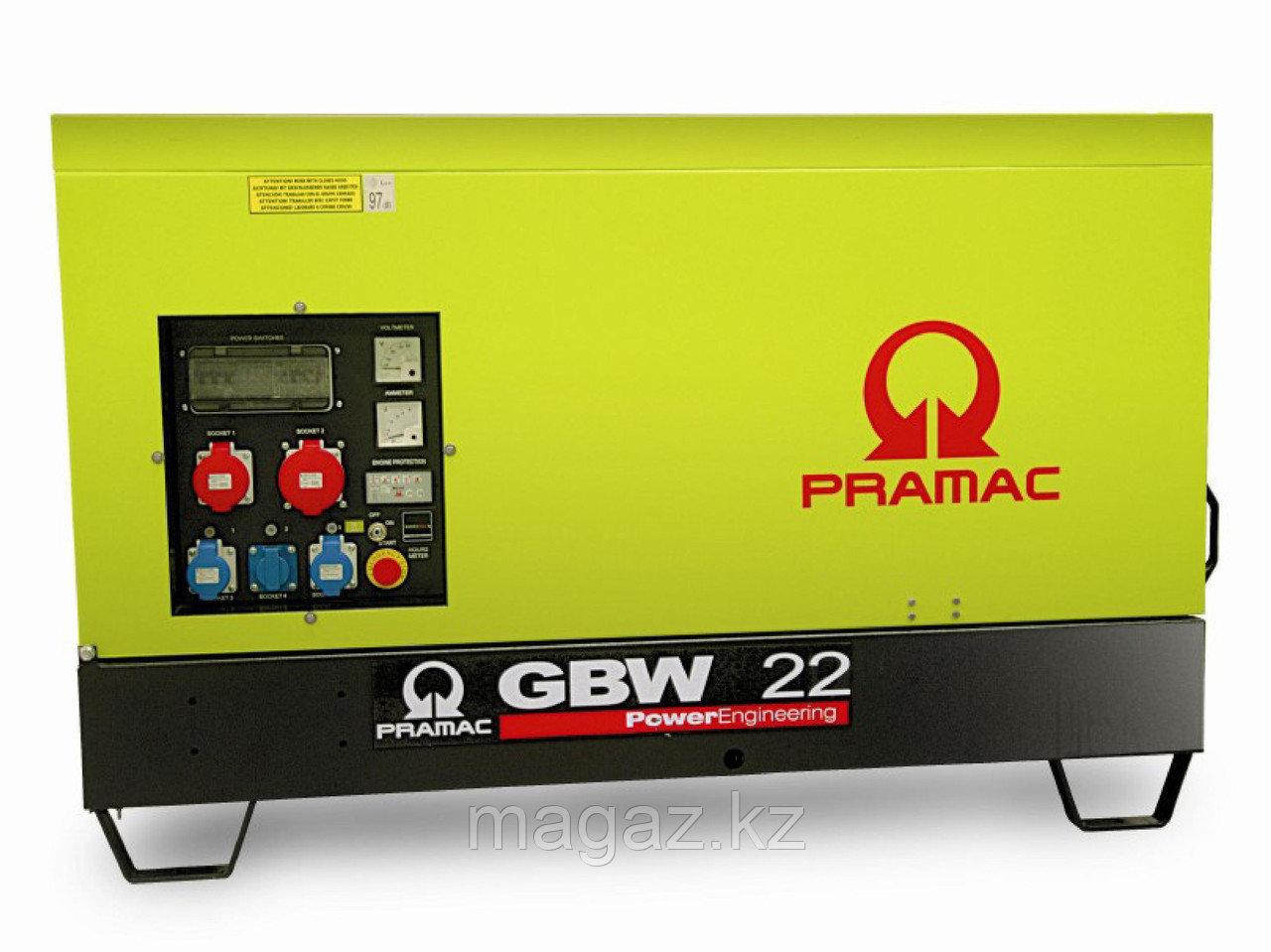 Генератор дизельный в кожухе Pramac GBW22Y (Mecc Alte)