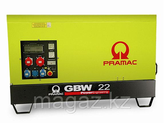 Генератор дизельный в кожухе Pramac GBW22Y, фото 2