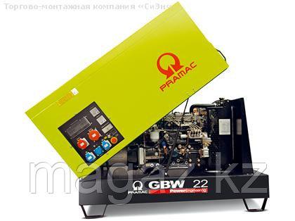 Генератор дизельный в кожухе Pramac GBW22P (Mecc Alte), фото 2