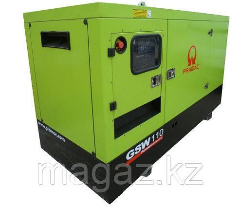 Генератор дизельный в кожухе Pramac GSW110D, фото 2