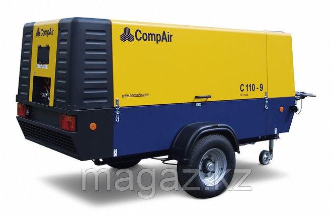 Компрессор дизельный CompAir C110-9, фото 2