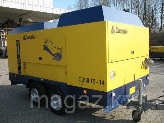 Компрессор дизельный CompAir C200TS-14, фото 2